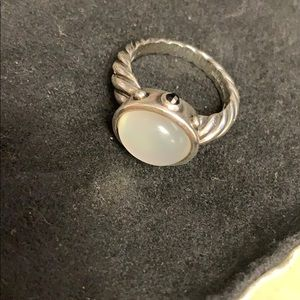 David Yurman Renaissance Ring Moon Quartz